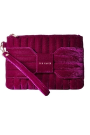 Ted Baker Velvet Bow Crossbody - Front cropped