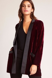 BB Dakota Velvet Boyfriend Blazer - Product Mini Image