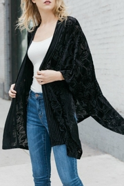 Mystree Velvet Burnout Kimono - Product Mini Image