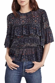 Velvet Cali Floral Top - Product Mini Image
