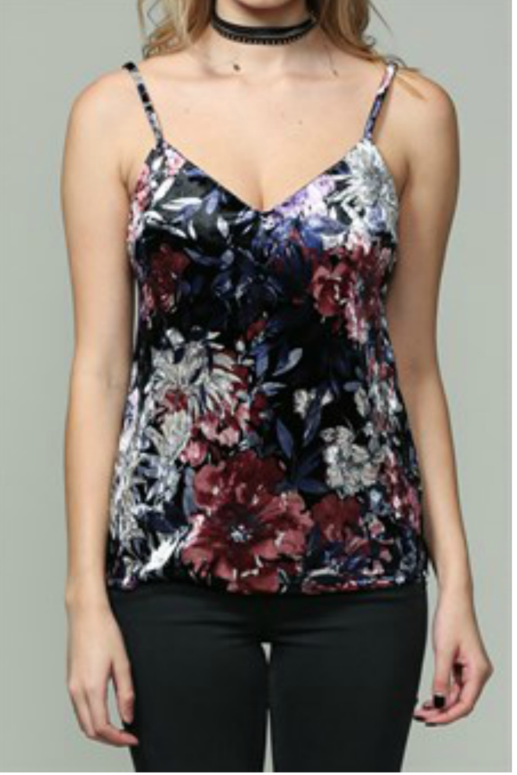 04b6541509b627 By Together Velvet Cami TOp from New York by Gado-Gado — Shoptiques
