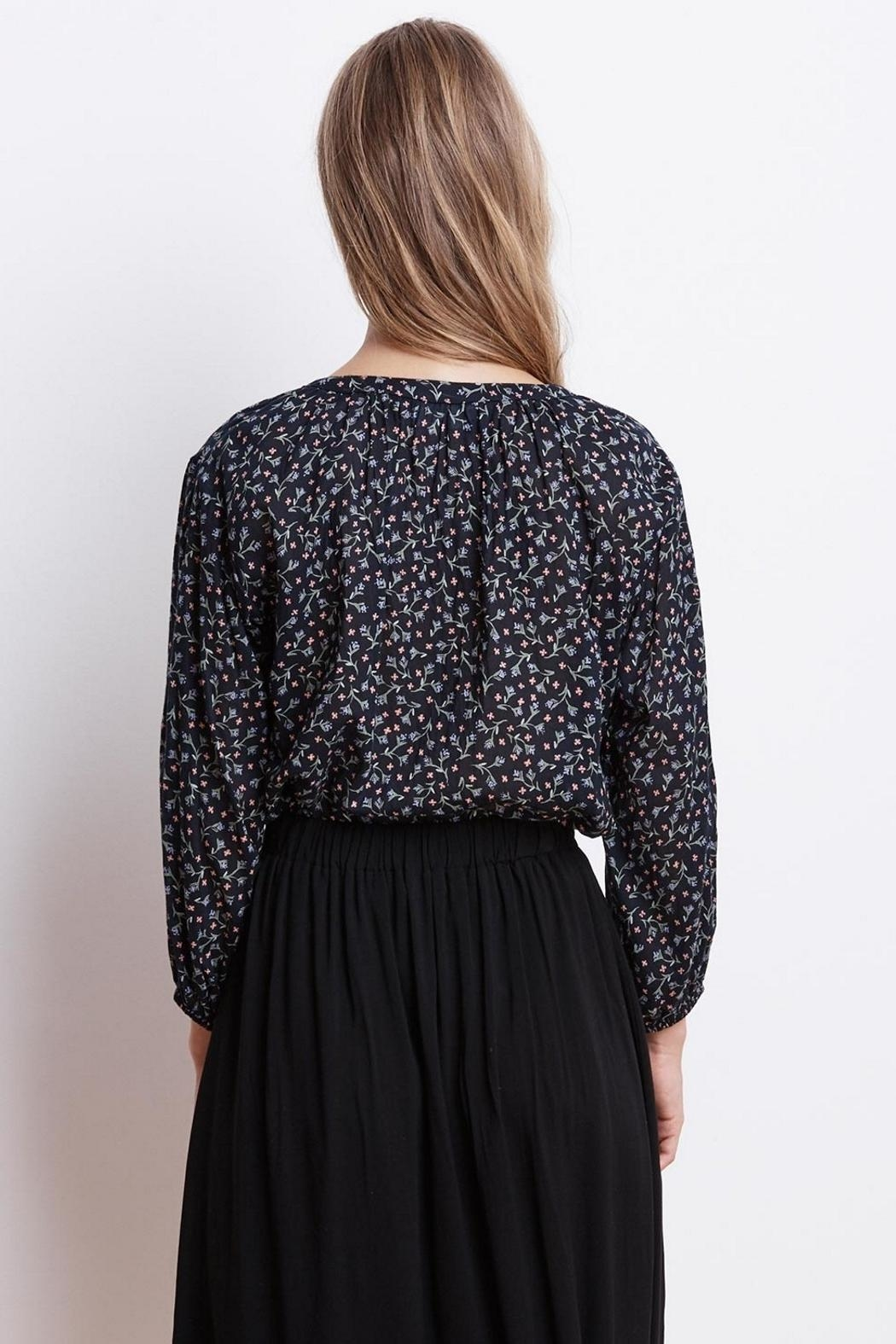 Velvet Catalina Printed Blouse - Side Cropped Image