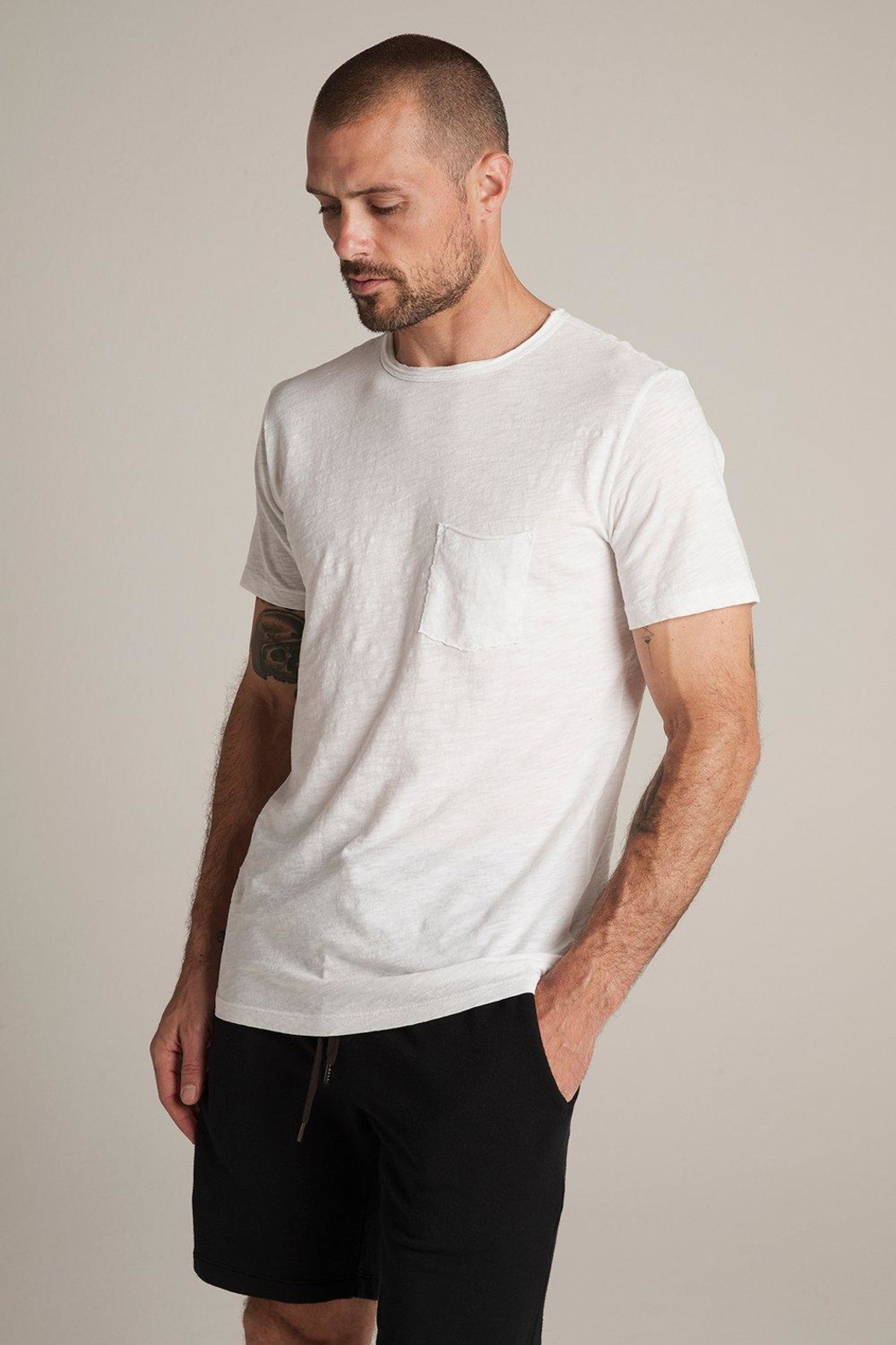 Velvet Chad Classic Pocket Tee - Front Cropped Image