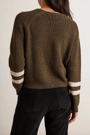 Velvet Chasen Raglan Sweater - Front full body