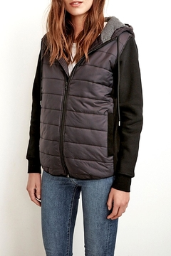 Shoptiques Product: Christelle Hooded Puffer Jacket