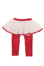 Rock Your Baby Velvet Circus Tights - Front cropped