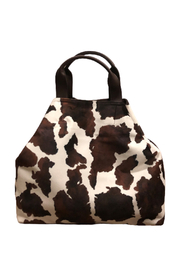Sondra Roberts Velvet Cowhide Shoulder Bag - Product Mini Image