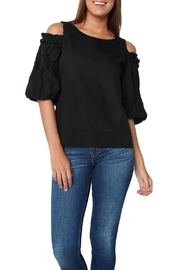Velvet Darvine Black Blouse - Product Mini Image