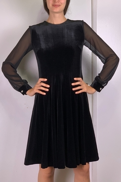 Mossaic Velvet Dress  2334 - Product List Image