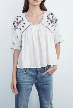 Shoptiques Product: Embroidered Cotton Top