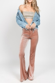 On Twelfth Velvet Flare Pant - Product Mini Image