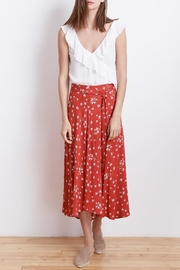 Velvet Swan Midi Skirt - Product Mini Image