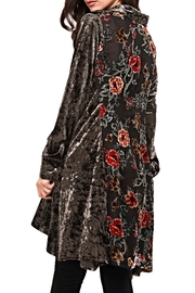 Adore Velvet Floral-Inlay Tunic - Product Mini Image