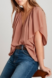 Velvet Tina V-Neck Top - Product Mini Image