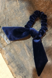 Space46 Velvet Hair Tie - Front cropped