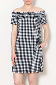 Velvet Heart Checkered Dress - Product Mini Image