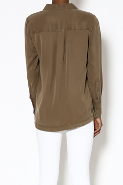 Velvet Heart Olive Long Sleeve Top - Alternate List Image