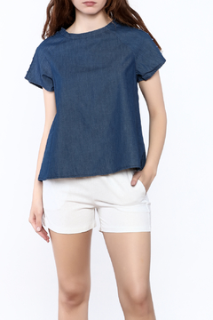 Shoptiques Product: Peek-a-Boo Shoulder Top