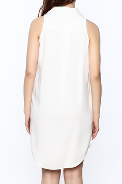 Velvet Heart White Sleeveless Dress - Alternate List Image