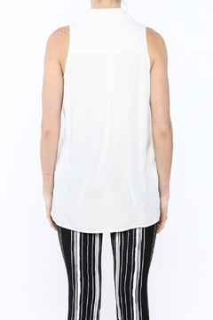 Velvet Heart White Sleeveless Top - Alternate List Image