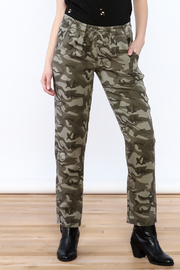 Velvet Heart Tencel Camo Pants - Product Mini Image