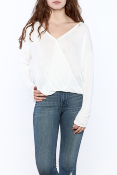 Shoptiques Product: White Long Sleeve Top