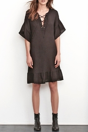 Velvet Izella Lace-Up Dress - Product Mini Image