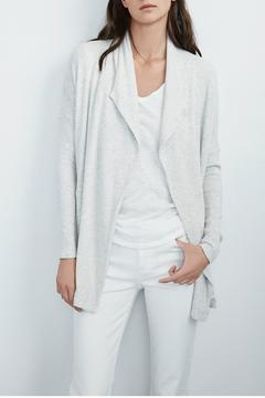 Shoptiques Product: Jersey Ribbed Cardigan