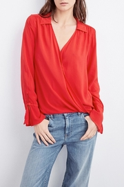 Velvet Justina Wrap Blouse - Product Mini Image