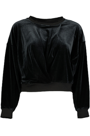 Bishop + Young Velvet Knot Front Sweatshirt - Product Mini Image