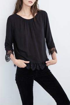 Shoptiques Product: Lace Trim Blouse