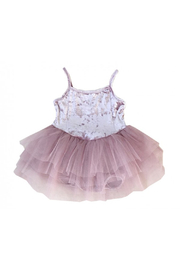 Petite Hailey Velvet Leotard Tutu - Product Mini Image