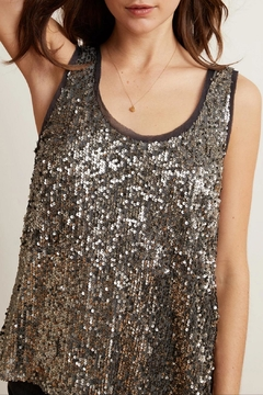 Velvet Leyla Sequin Top - Alternate List Image