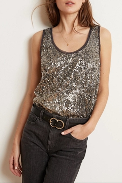 Velvet Leyla Sequin Top - Product List Image