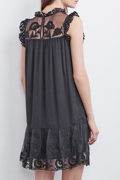 Velvet Marsha Embroidered Dress - Alternate List Image