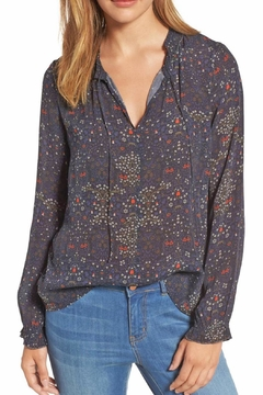 Velvet Mary Floral Blouse - Product List Image