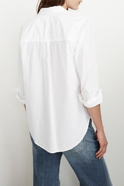 Velvet Mickey Button Up Shirt - Side cropped