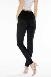 Kan Can VELVET MIDRISE SKINNY - Front full body