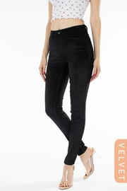 Kan Can VELVET MIDRISE SKINNY - Product Mini Image