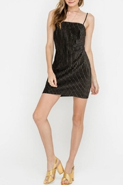 Lush Velvet Mini Dress - Product Mini Image