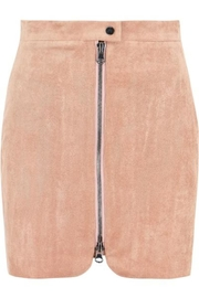 Bishop + Young Velvet Mini Skirt - Product Mini Image