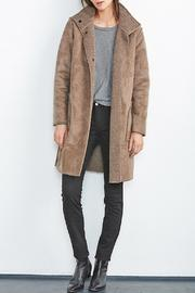 Shoptiques Product: Mirabella Sherpa Coat - Front cropped