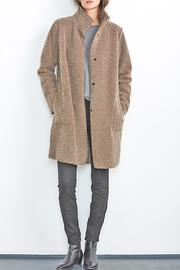 Shoptiques Product: Mirabella Sherpa Coat - Side cropped