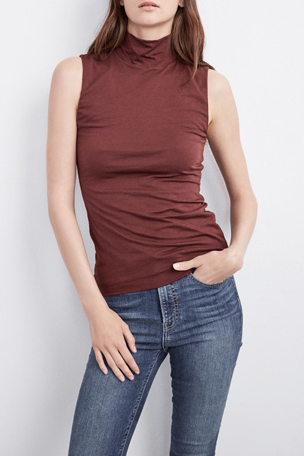 Velvet Roselle Top - Front Cropped Image