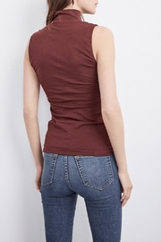 Velvet Roselle Top - Front full body