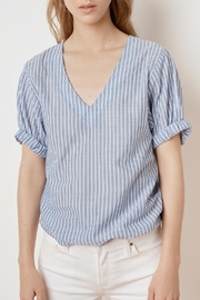 Velvet Denna Tie Shirt - Side cropped