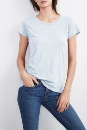 Velvet Odelia Cotton Crew Neck Tee - Front cropped