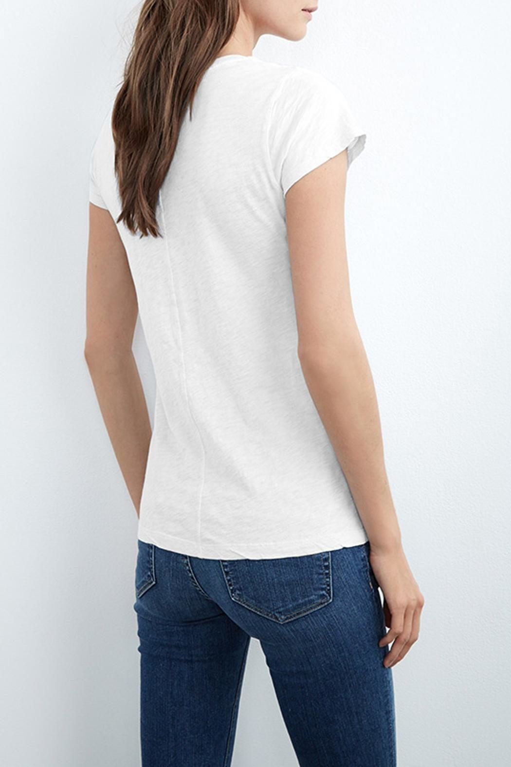 Velvet Odelia Cotton Crew Neck Tee - Front Full Image