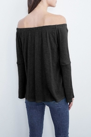 Velvet Lenora Top - Front full body