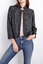 Velvet Razi Sequin Jacket - Product Mini Image